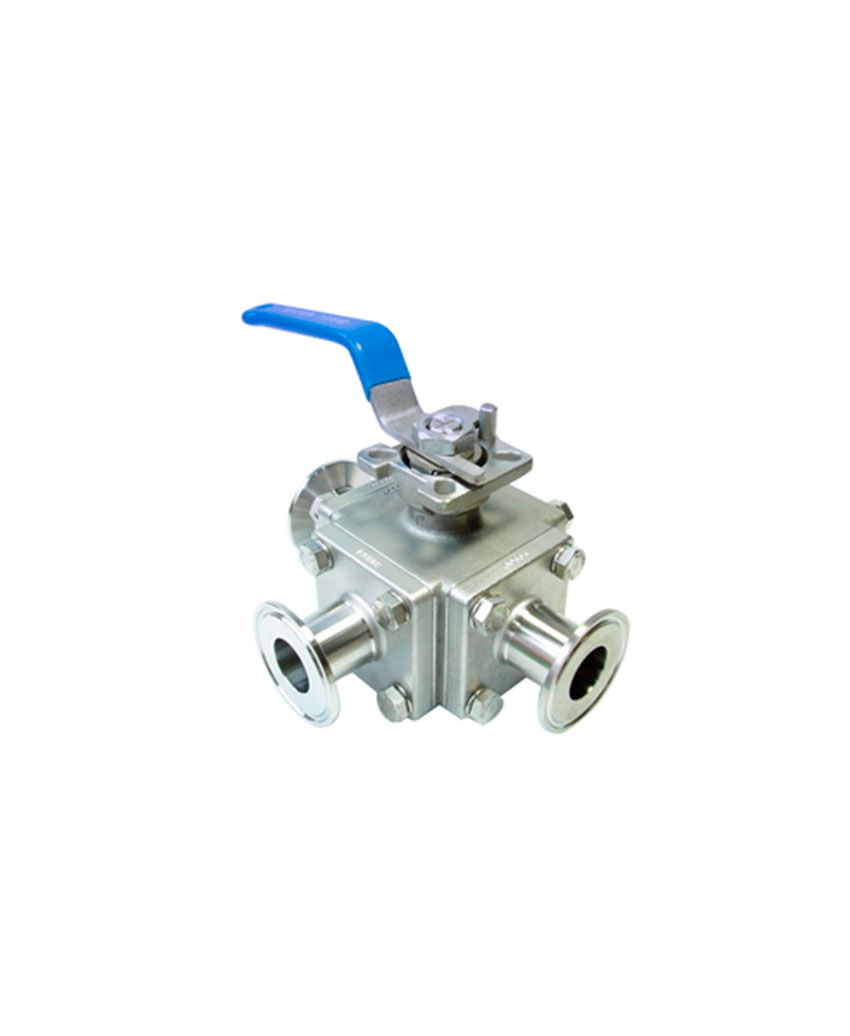 3Way  Sanitary Ball Valve